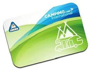 Camping Card International 2018
